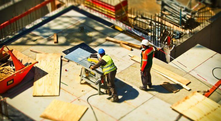La construction et les travaux en BTP sont en stand-by