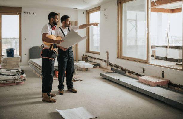 Les étapes sur les travaux de rénovation